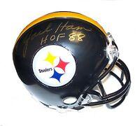 Jack Ham Autographed Steelers Mini Helmet w/ SCC Steel City Collectibles COA