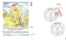 Beleg Berlin FDC ( Nr. 673 ) DS Burgen & Schlösser Bogenrand von 1982
