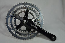 crankset Miche Sportino square right arm 172,5 mm 50/40/30 t Supertype division