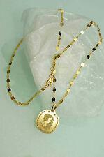 750 GOLD SCHMUCKSET 2tlg. HALSKETTE 42 cm + ANHÄNGER Sternzeichen *FISCHE* NEU