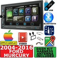 2004-2016 FORD F & E SERIES NAVIGATION APPLE CARPLAY BLUETOOTH USB CAR STEREO