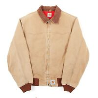 CARHARTT Quilted Chore Jacket | Men's M | Coat Work Wear Duck Vintage Canvas