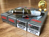 4PC NGK IZFR6K11NS 9329 12290-R62-H01 Laser Iridium Spark Plug OEM Honda Acura