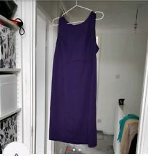 Purple Formal/Work Wear Dress