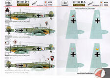 "HAD Models Messerschmitt Bf 110 D-3 ""Afrika"" Part 1 1/48 decals"