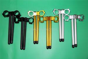 """33MM 7/8"""" Clip On Handlebar For Honda CB350 CB360 CM400 CM450 CB400 CB450 CMX250"""