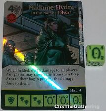 Foil MADAME HYDRA: IN THE NAME OF HYDRA 102 Deadpool Marvel Dice Masters Rare