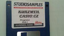 Kurzweil ~ CASIO CZ Programs Disk 2  of Native Kurzweil V.A.S.T Programs!!!