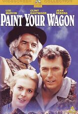 PAINT YOUR WAGON - Lee Marvin ,Clint Eastwood - RARE ALL REG DVD
