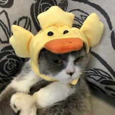 Cute Animal Duck Shape Pet Accessory Fun Cosplay Decoration Hat Cap for Cat SP