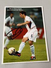 STEVE CHERUNDOLO  American soccer player USA  signed in-person photo  4 x 5.6