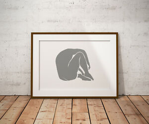 Matisse Female Form print, poster, prints, posters, watercolour, wallart,