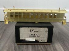 Hallmark Models Ajin Brass 2 Rail Santa Fe Drovers Car Unpainted Ex+ w/ Box