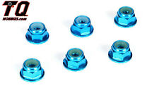 Losi TLR336001 4mm Aluminum Serrated Locknut Set (6) TLE 22/Fast ship+ tracking#