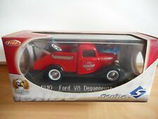 Solido Ford V8 Depanneuse Fire Dept. in Red on 1:43 in Box