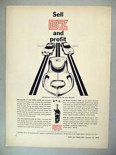 BZ Slot Car PRINT AD - 1966 ~~ cars, Banshee