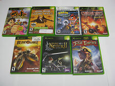 Xbox game lot (8), Crash Bandicoot Wrath of Cortex, Jade Empire, TESTED!