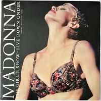 MADONNA THE GIRLIE SHOW LIVE DOWN UNDER LASERDISC NTSC 1993 USA 1st ED. RARE OOP