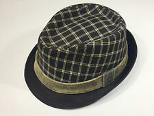 79519517e7e85 Christys Crown Series fedora hat brown tan plaid