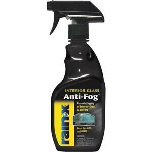 6 Pk RAIN-X 12Oz High-Quality Performance Interior Glass Liquid Anti-fog Cleaner