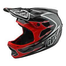 Troy Lee Designs D3 Composite Corona Bicycle Helmet Red/Gray