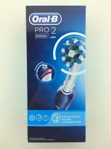 Braun Oral-b Pro 2 2000n Cross-action Electric Toothbrush