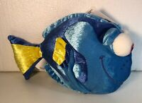 "Walt Disney Parks Finding Nemo DORY FISH 9"" Plush Stuffed Animal TOY NWT"
