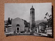 Cartolina VICENZA RECOARO TERME CHIESA ARCIPRETALE Viaggiata 1957