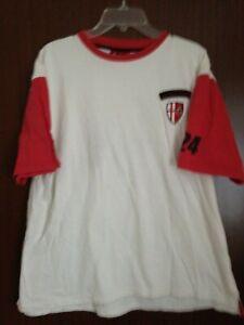 AFC Bournemouth White Mens T Shirt FILA NO 24 Size XXL Official Club Shop