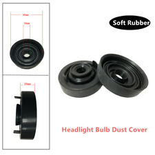 2* 80mm Rubber Car Headlight Bulb Dust Cover For LED HID Xenon Lamp Waterproof