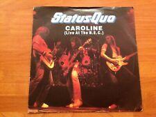 STATUS QUO - 1982 Vinyl 45rpm 7-Single - CAROLINE ( Live At The N.E.C. )