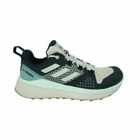 Adidas Women's Terrex Bounce Hiker Boot Shoes Navy Blue Gray Green Size 8.5