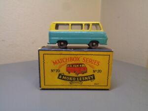 MATCHBOX LESNEY No 70A VINTAGE FORD THAMES ESTATE CAR NMINT IN BOX