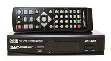 DVB-T2 FULL HD TV terrestrische Receiver HEVC H.265 USB HDMI DVB-T/T2