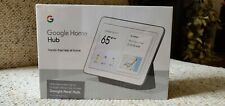 Google Nest Home Hub with Google Assistant, Charcoal, GA00515-US, NEW