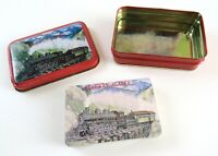 Vintage Skagway Alaska Souvenir Playing Cards In Tin
