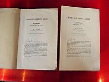 Fondation Clément Rapport sur les de vertu Bienfaisance Générosité 1892 et 1900