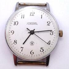 Vintage Soviet RAKETA 1960s watch Cute Classic Dial, USSR HQ Mark, SERVICED #463