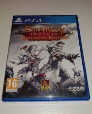Divinity Original Sin Enhanced Edition PS4 Good Cond PAL UK Playstation 4 RPG