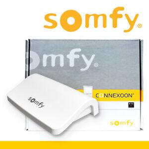 Somfy Connexoon Window RTS Home Automation Hub Philips Hue Lichtern Kompatibel