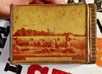 Ancienne Boîte provenant de l'Abbaye de sept-Fons Auvergne graine de blé germe