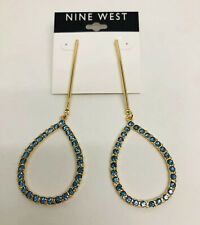 Nine West Rhinestone Drop Earrings!! Nwt!!