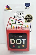 On The Dot The Super Spotted Brain Teaser Game Brand New Sealed BrainWright  207
