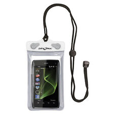 "Kwik Tek Dry Pak Cell Phone, Gps, Mp3 Case 4"" x 6"" Clear/White Dp-46W"