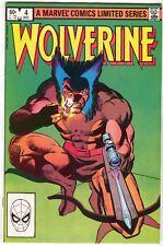 Wolverine 4 Marvel 1982 NM- Frank Miller Limited Series