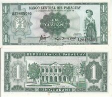 PARAGUAY 1 GUARANI 1952  FDS UNC