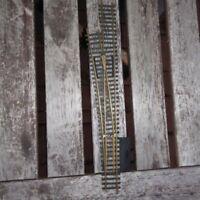Roco H0 Linksweiche gebraucht erhalten ohne Antrieb 2,5 mm, Schnellfahrweiche