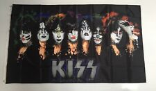 KISS Style 2 Flag Banner - Rock N Roll Tour Concert Music Man Cave Memorabilia