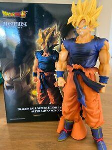 Dragon Ball Z Super Saiyan Angry Son Goku PVC Action Figure JP Anime Toy