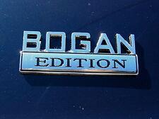 BOGAN EDITION CAR BADGE Chrome Metal Emblem & Very Special fits HOLDEN etc